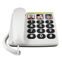Doro PhoneEasy 331ph schnurgebunden Großtastentelefon Direktwahl-Fototasten
