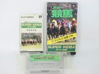 Super KEIBA Item Ref/ccc Super Famicom Nintendo Import JAPAN Game sf