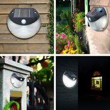 Solar Front Door Garden  Outdoor Exterior  Fence Light with Motion LED Sensor