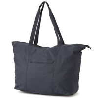 New MUJI Tote Bag Deep Blue Water repellent cloth for paragliding Japan F/S