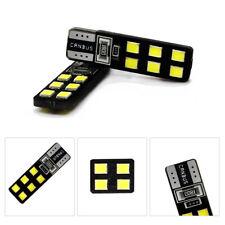 T10 12-SMD LED Canbus Bead Error Free Car Light Bulb Lamp 6000K W5W 194 168 2835