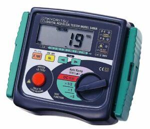 Kyoritsu 5406A - Digital Ramp RCD Tester, AU Stock, GST Inc, Same day Shipping