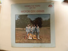 Motor City Grass (sealed Lp) DOWN THE ROAD ~ Old Homestead M bluegrass