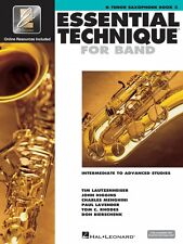 Essential Technique for Band Intermediate to Advanced Studies Bb Tenor 000862624