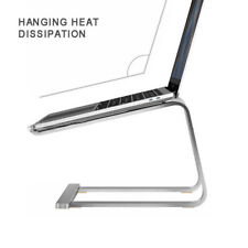 """Portable Aluminium Laptop Stand Tray Holder Cooling Bracket For 11""""-17"""" MacBook"""