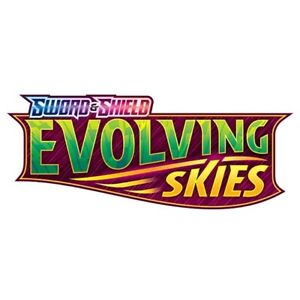 POKEMON - 10 x SWORD & SHIELD EVOLVING SKIES ONLINE BOOSTER PACK CODE CARDS TCG
