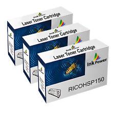 3 Black NON-OEM Toner Cartridges For Ricoh SP150 SP150SU SP150SUW