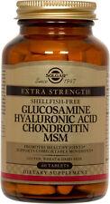 Solgar Glucosamine Hyaluronic Acid Chondroitin MSM Shellfish-Free 60 Tablets