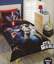 Kids Boys Licensed STAR WARS A NEW HOPE  SINGLE Duvet/Doona/Quilt Cover SET BNIP