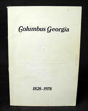 History of Columbus Georgia 1828 - 1978
