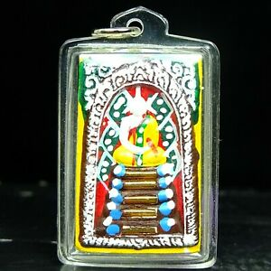 """""""SOMDEJ COLORED MONEY RICH LUCKY THAI AMULET LP KOON BE2537 GOLDEN  TAKUD"""