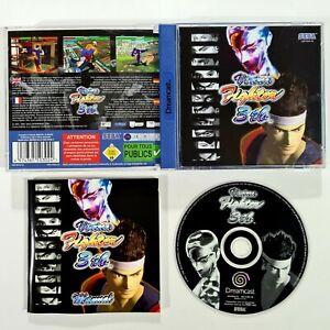 SEGA Dreamcast Spiel VIRTUA FIGHTER 3 TB dt. PAL 3D Beat'em Up/Arcade/AM2/Akira