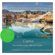 CARMIX-GPS - Cyprus GPS Road Map + Poi data for Garmin - microSD-SD MC2019Q1CYP