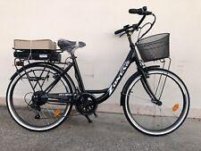 ebike bicicletta elettrica unisex 26-28 nera