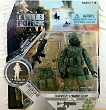 ULTIMATE SOLDIER 1/18 ELITE FORCE BBI UNIMAX OPEN CARD CODE NAME -LT- 1FIG-