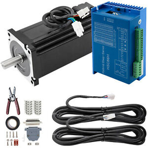 1 Axis Closed Loop Stepper Motor CNC Kit 12Nm 6A Nema 34 Schrittmotor Driver