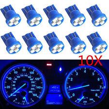 10X T10 Wedge Blue 4-SMD LED Dashboard Light W5W 194 2825 Gauge Cluster Bulbs