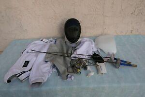 Fencing Lot Uhlmann, Alliance & Linea ~ Swords, Mask, Electricals, Juniors Wear