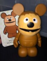 """DISNEY VINYLMATION 3"""" Rowlf Muppets Muppet 1 With Card Rare"""