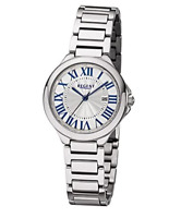 Regent Women's Ladies Silver 32mm Stainless Steel Quartz Watch - 12221046