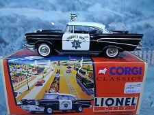 1:43 Corgi Classics #51302 Lionel Chevrolet Sheriff's Police Car