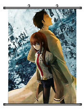 Steins;Gate Makise Kurisu Home Decor Anime Japanese Poster Wall Scroll Hot B004
