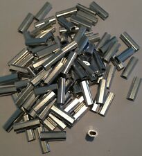 ALLOY CRIMPS 1.7 mm ID (18 mm long crimp) x 100 pack
