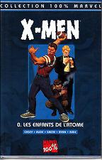 MARVEL 100%  : X MEN  N° 0  LES ENFANTS DE L'ATOME    PANINI  COMICS