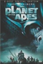 Like New DVD Planet of the Apes (Two-Disc Special Edition) Mark Wahlberg Helena