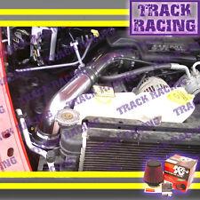 02-10 DODGE RAM 1500 2500 3500 3.7/4.7/5.7L V6 V8 COLD AIR INTAKE+K&N Black Red