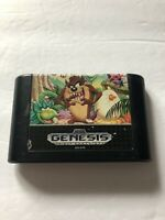 Taz-Mania Sega Genesis Cartridge Only 1992 Cleaned & Tested