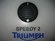 TRIUMPH BONNEVILLE T120 THRUXTON PLASTIC COVER BADGE FOR ALTERNATOR T1268444