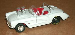 1/37 Scale 1957 Chevy Corvette Custom Made Dragster Diecast Model Car Hot Rod