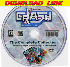 CRASH MAGAZINE The Complete Collection PDF DOWNLOAD Sinclair/ZX81/Spectrum Games