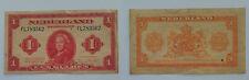 "1943 - Banconota Olanda - Paesi Bassi 1 Gulden ""Regina Guglielmina"" BB"