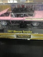 1957 '57 MERCURY TURNPIKE CRUISER PINK M2 MACHINES 1:64 Premium Die Cast