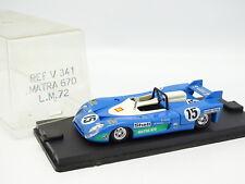 Verem 1/43 - Matra Simca 670 Le Mans 1972