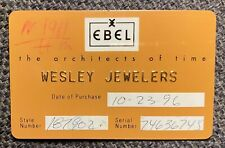 EBEL Instructions Manual dressware