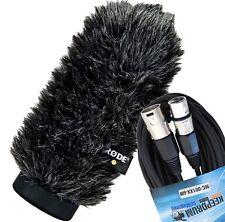 Rode ws6 Deluxe protección contra el viento para ntg-1/ntg-2 + KEEPDRUM cables del micrófono XLR 6m