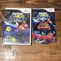 Super Mario Galaxy (Nintendo Wii, 2007)- Complete