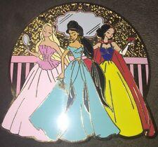 Fantasy Pin Disney Princess Designer Jumbo Jasmine Rapunzel Snow White Le 100