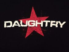 VINTAGE DAUGHTRY 2012 BREAK THE SPELL TOUR T SHIRT SMALL