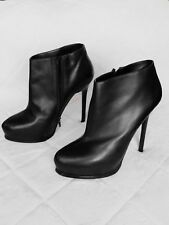 womens aldo black platform heels stiletto 7