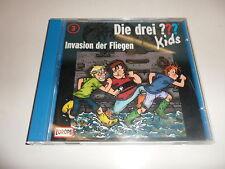 CD  Invasion der Fliegen - Die drei ??? Kids CD 3