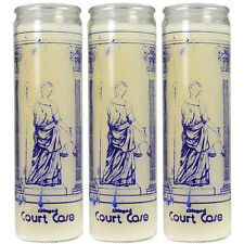 """3 pk """"Court Case"""" Prayer for Law Legal Cases Divorce Ritual Spell 8"""" Jar Candles"""