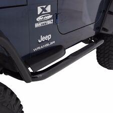 "Smittybilt Sure Step 3"" Gloss Black Sidebars 97-06 Jeep Wrangler TJ JN460-S2B"
