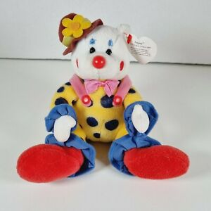 TY BEANIE BABY 2004 Juggles The Clown Bear Rare & Retired with Tags Collectable