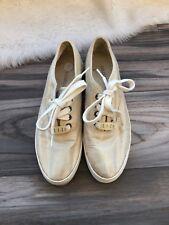 Liz Clairbone Creepers Vintage Sneakers Gold Sneakers Size 5,5 V Women Metallic
