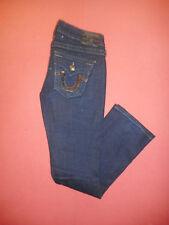 True Religion BILLY  Womens Navy Denim Jeans  Waist 26 Leg 30  B704