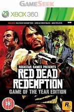 Xbox 360 Red Dead Redemption Game of Year (xbox 3 VideoGames
